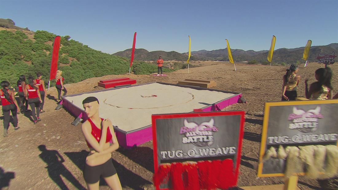 Bad Girls All Star Battle Sneak Peek 204: Tug-o-Weave