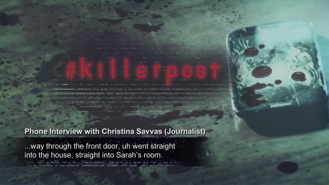 #killerpost Bonus 106: Interview with Christina Savvas Part 2
