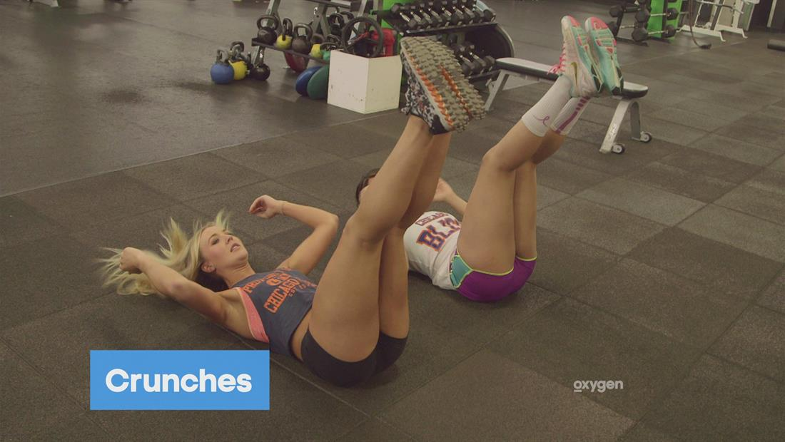 Pretty. Strong. Get Fit Challenge: Alli and Telli, Beginner Abs