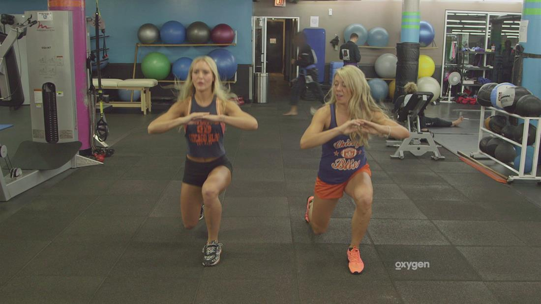 Pretty. Strong. Get Fit Challenge: Heather and Alli, Advanced Legs