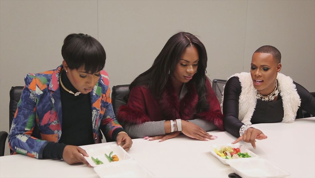 The Prancing Elites Project: The Elites Taste Vegetables