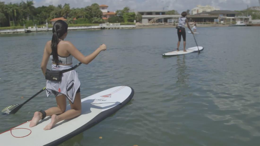 Rich in Faith Bonus 108: Paddle Boarding Fun